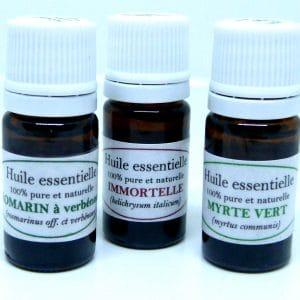 Trio huile essentielle Corse
