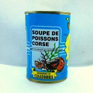 Soupe poisson Corse